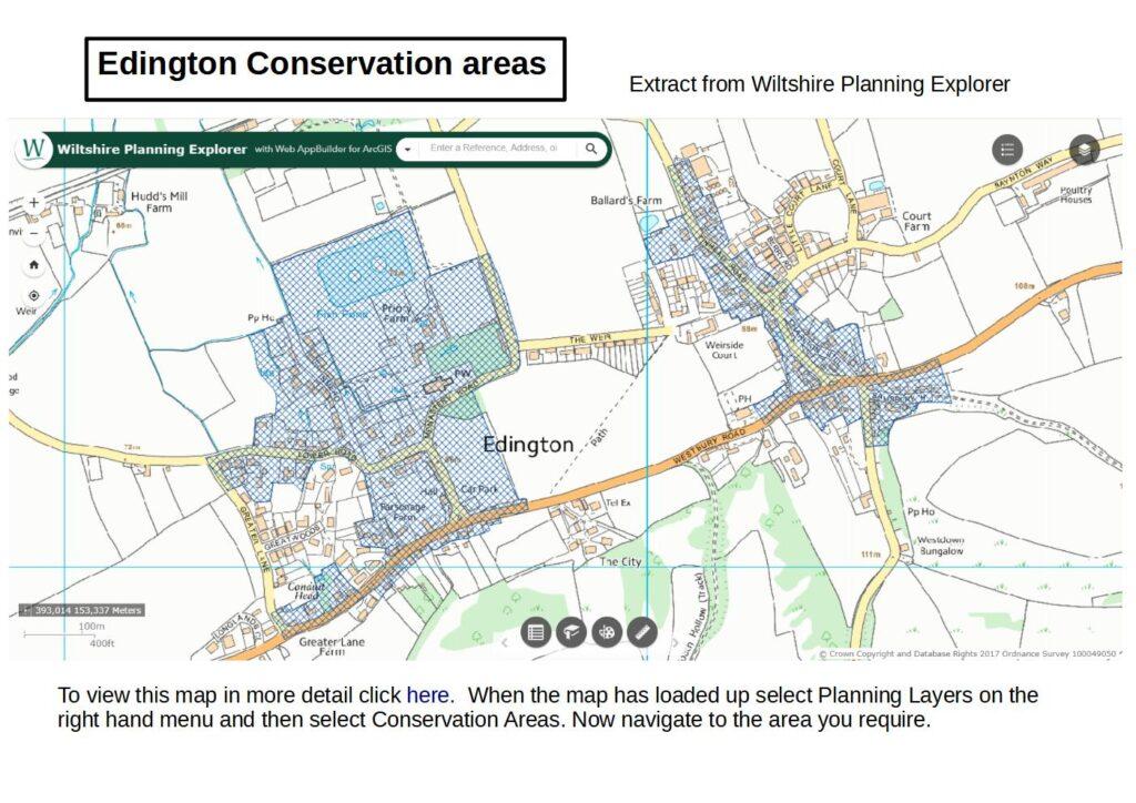 Edington Conservation Areas